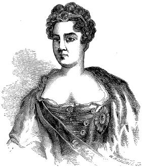 The Empress Catherine I.